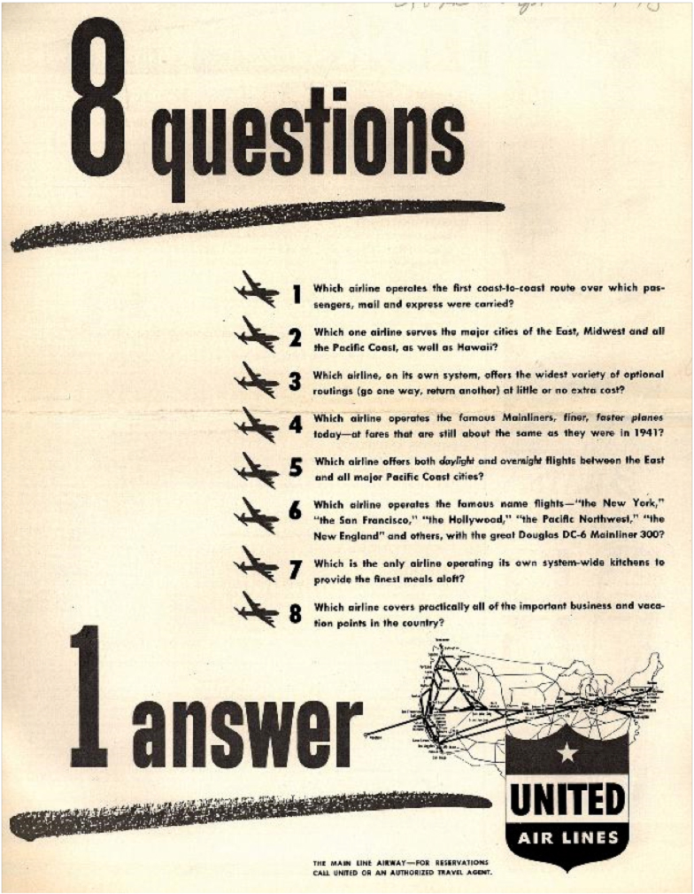 United airlines history of a great airline part one july 26 united airlines was already relatively well established by this time and continued to expand and grow at a steady rate unaffected by the legislative 1betcityfo Image collections
