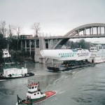 The Goose  in transit throughOregon City