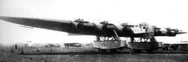 Kalinin-K-7-Pre-WWII-Russian-Giant-Bomber-Transport-Front