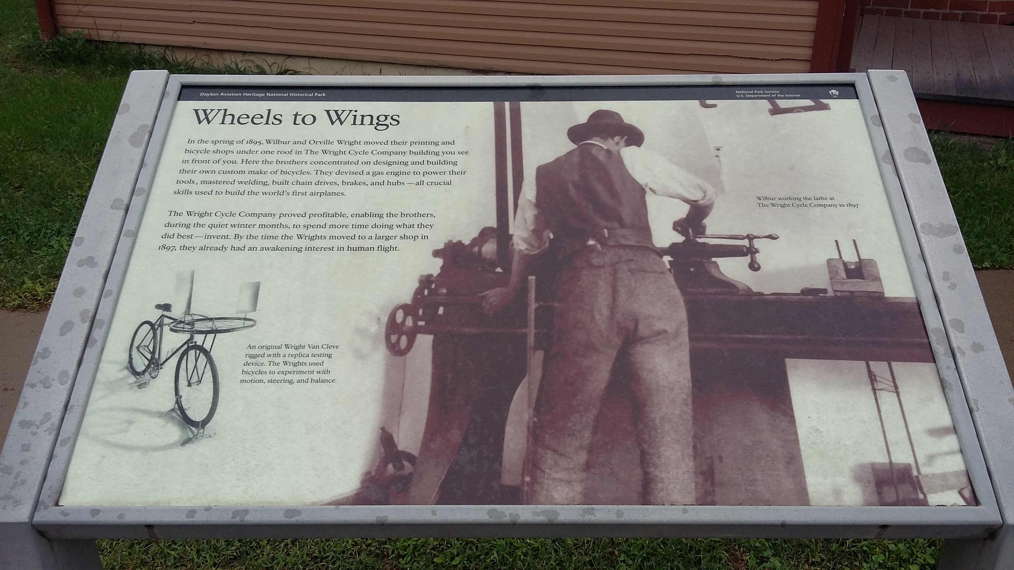 My Visit With The Wright Brothers