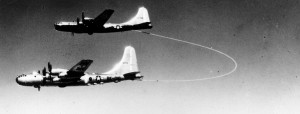 Boeing-B-50A-Superfortress-46-010-Lucky-Lady-II-refuels-from-a-Boeing-KB-29M-tanker-near-teh-Azores-26-February-1949-1024x389