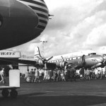 Pan American Boeing in Miami - 1949