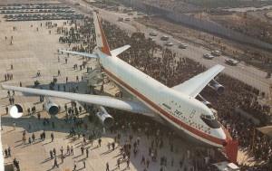 First Boeing 747